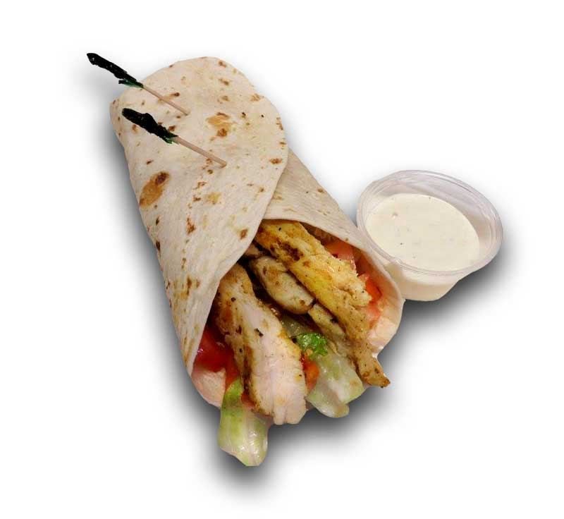 Grilled or Crispy Chicken Wrap
